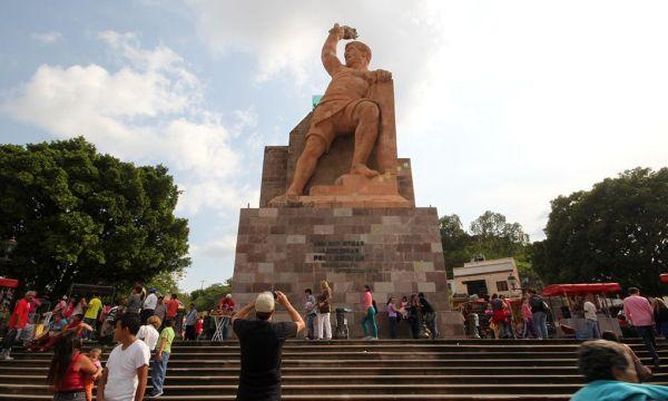 Monumento al Pípila en la Ciudad de Guanajuato
