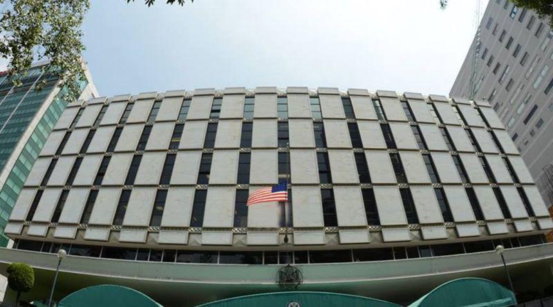 Embajada y consulados de EUA en México.