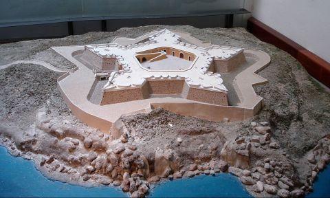 Maqueta del Fuerte de San Diego