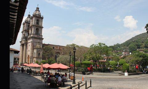 Plaza Central, Valle de Bravo.