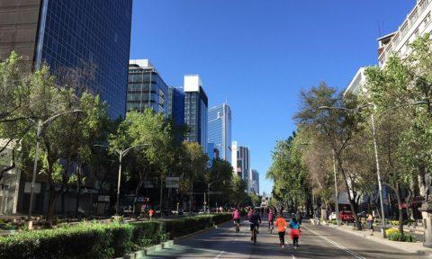 Paseo de la Reforma en la CDMX