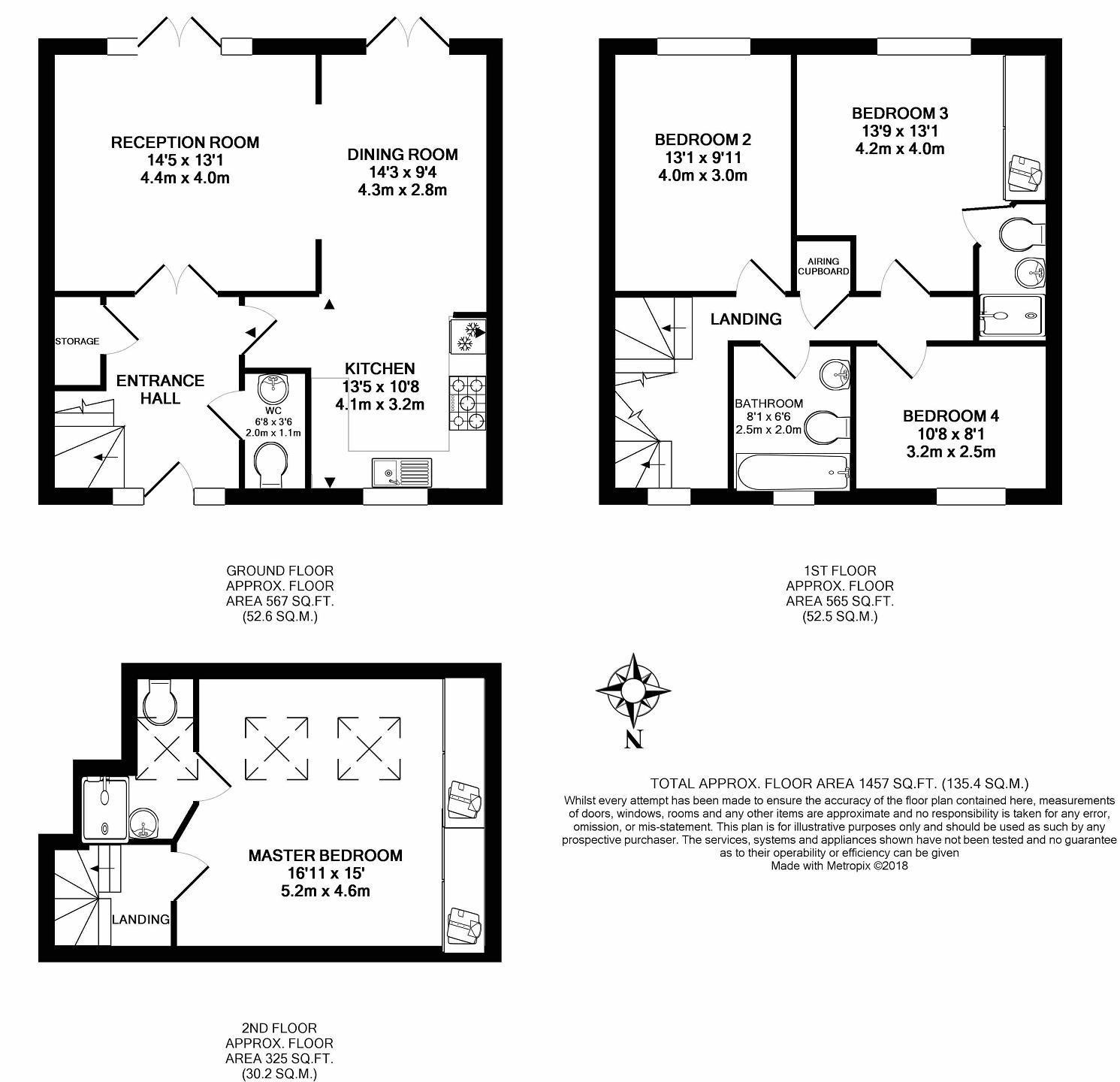 4 Bedroom House To Rent In Byfleet Village Kt14