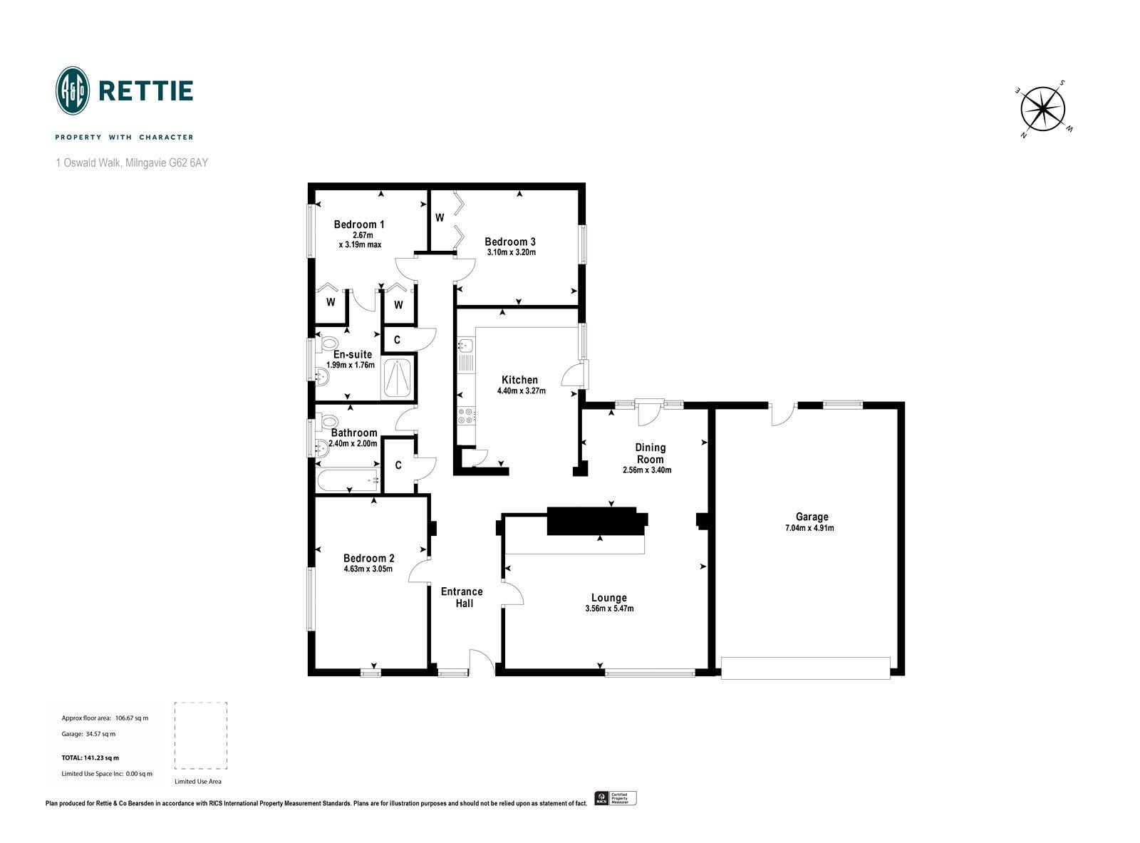 3 Bedroom House For Sale In Oswald Walk Milngavie G62