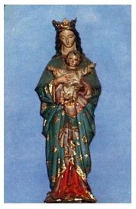 信徒発見の聖母像