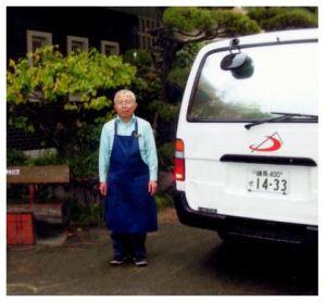Br.田中と営業車