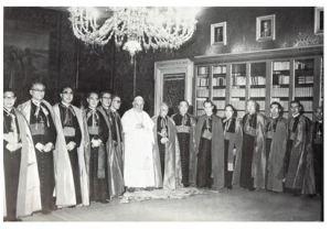 公会議に参加した日本司教団