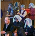 奉納の儀と信徒