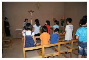 教会学校の子どもたち