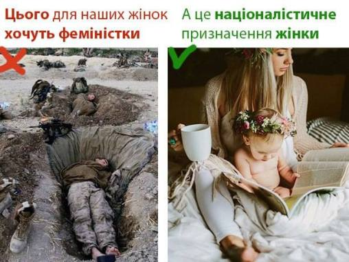 Правая пропаганда против женщин-военных
