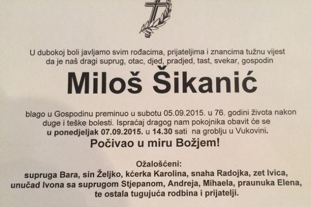 milos-sikanic-osmrtnica
