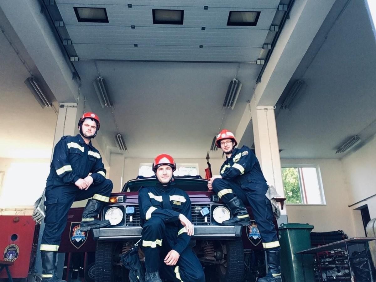 Naši vatrogasci na združenoj vježbi