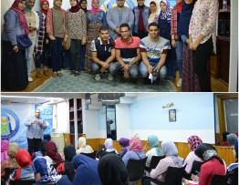 المدرب احمد جمعة مع طلاب تحيا مصر