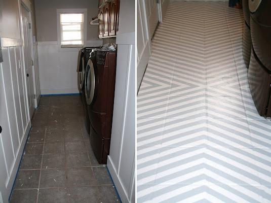 diy inspiration painting tile floors