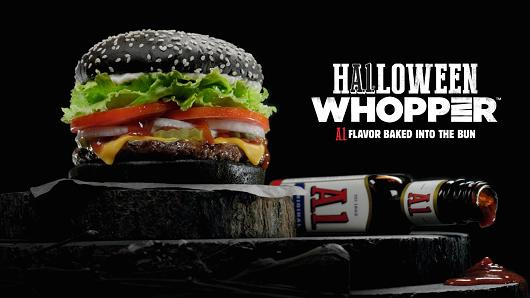 Halloween Menu Coming to Burger King
