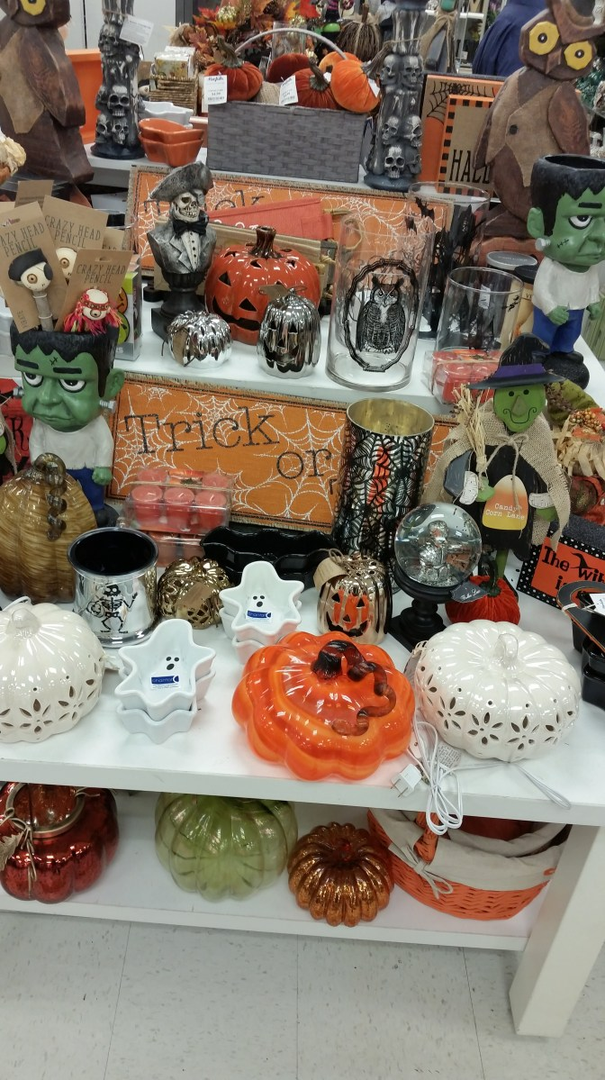Halloween Finds at Marshalls