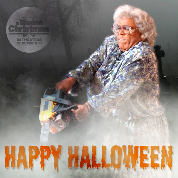 Madea's in for a Spook this Halloween