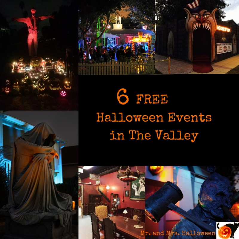 6 Free Halloween Events in The Valley