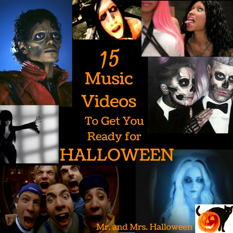 15 Music Videos to Get You Ready for Halloween