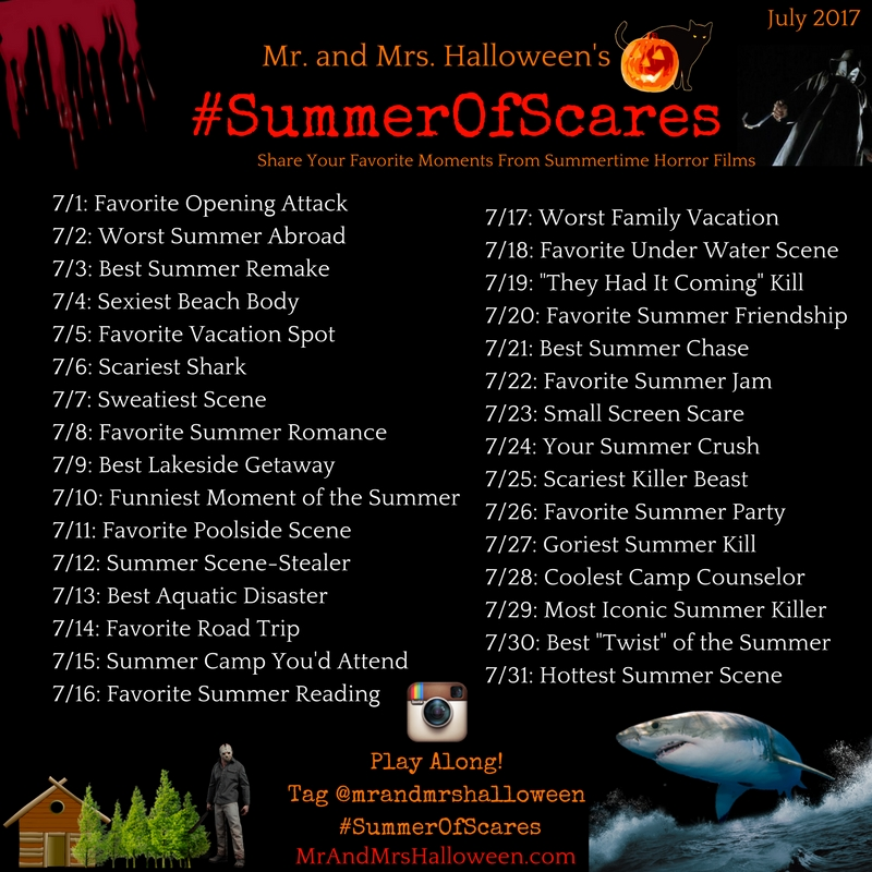 #SummerOfScares Instagram Horror Challenge