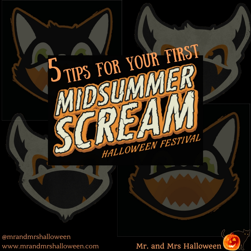 5 Tips for Your First Midsummer Scream Halloween Festival