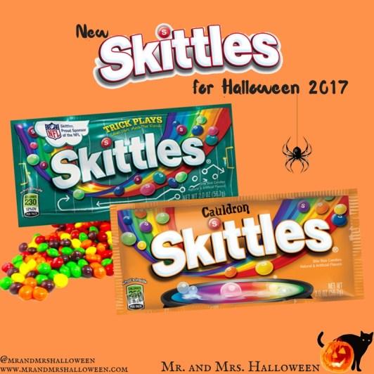 Halloween 2017 Skittles Mr and Mrs Halloween