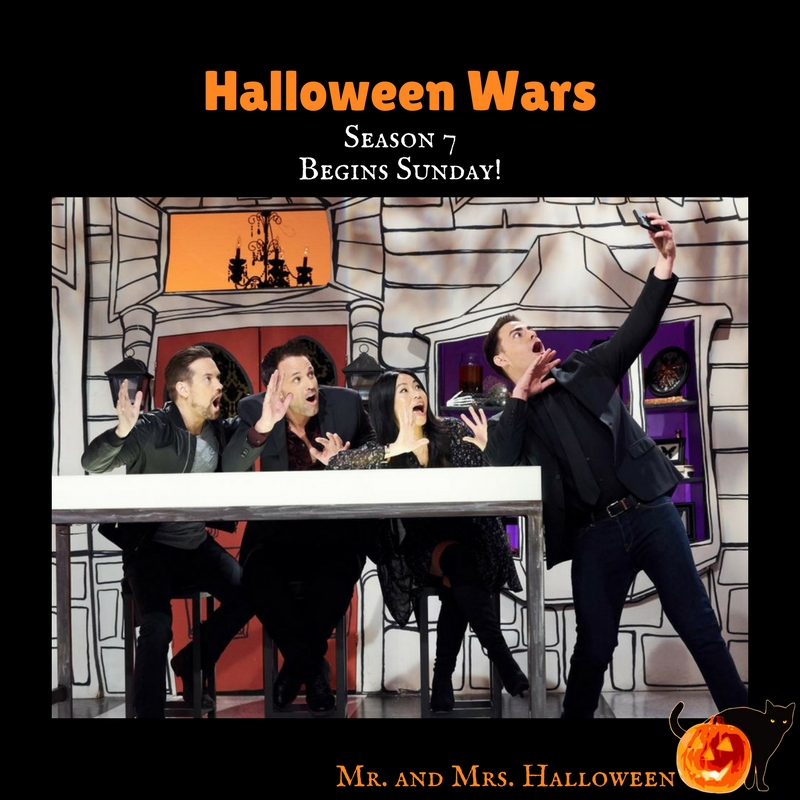 Halloween Wars Season 7 Begins Sunday!