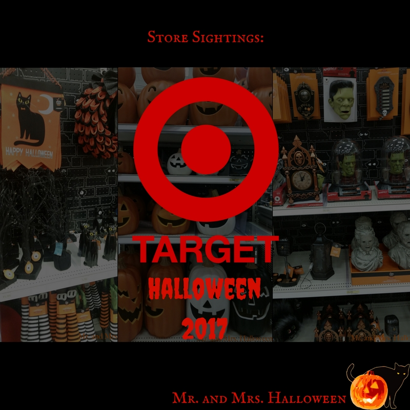Store Sightings: Target Halloween 2017