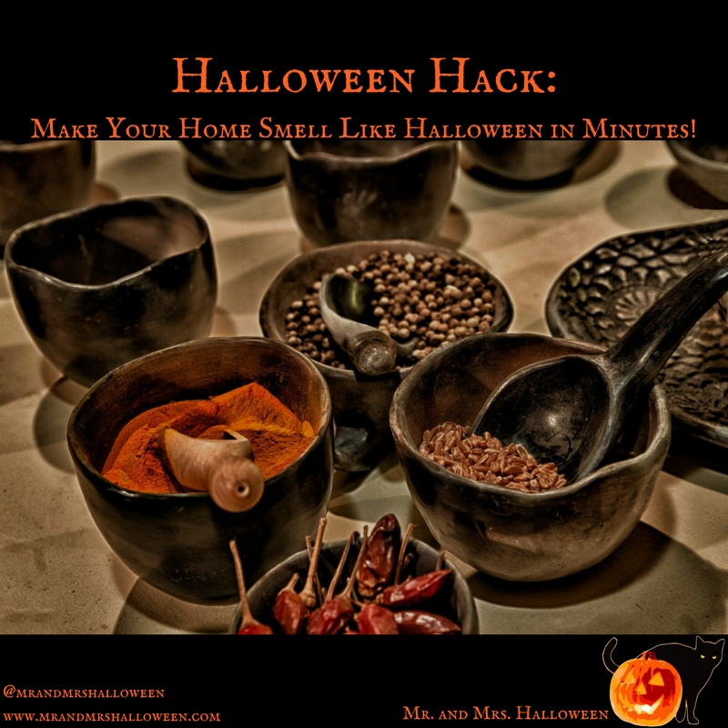 Halloween Hack: Make Your Home Smell Like Halloween in Minutes!