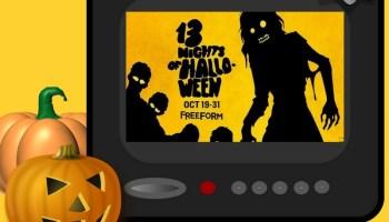 Freeform's 13 Nights of Halloween 2016 Lineup - Mr. and Mrs. Halloween