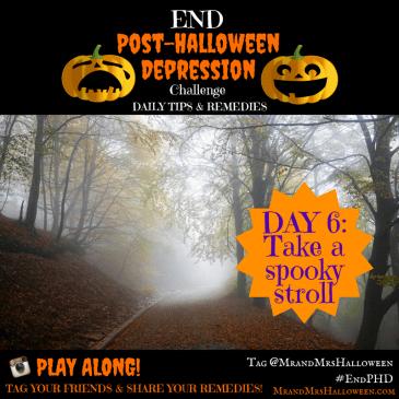 End Post-Halloween Depression Take a Spooky Stroll