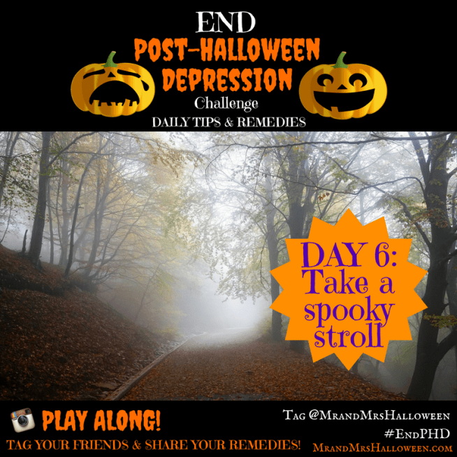 End Post-Halloween Depression Take a Spooky Stroll