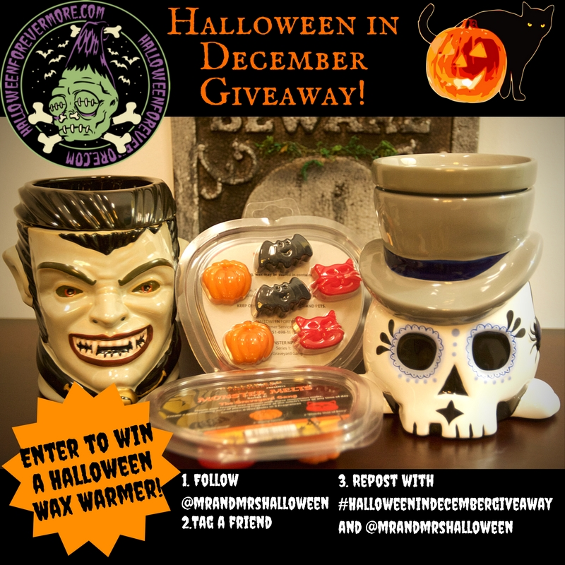 Halloween Forevermore Wax Warmer Review & Giveaway!