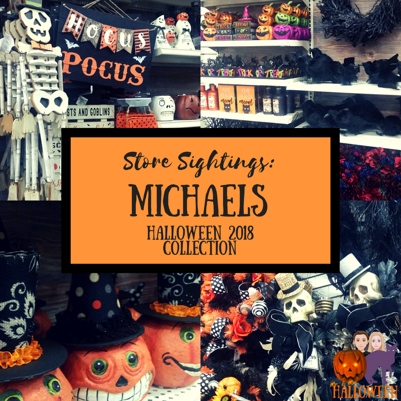 Store Sightings: Michaels Halloween 2018 Collection