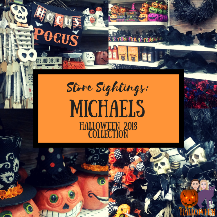 Store Sightings Michaels Halloween 2018 Collection