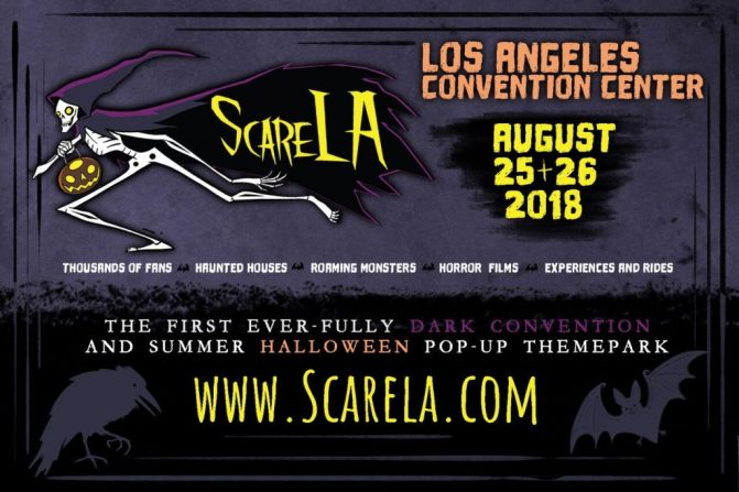 ScareLA 2018 mr and mrs halloween