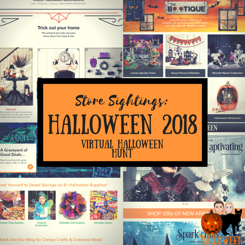 Store Sightings: Halloween 2018 Decor Virtual Halloween Hunt