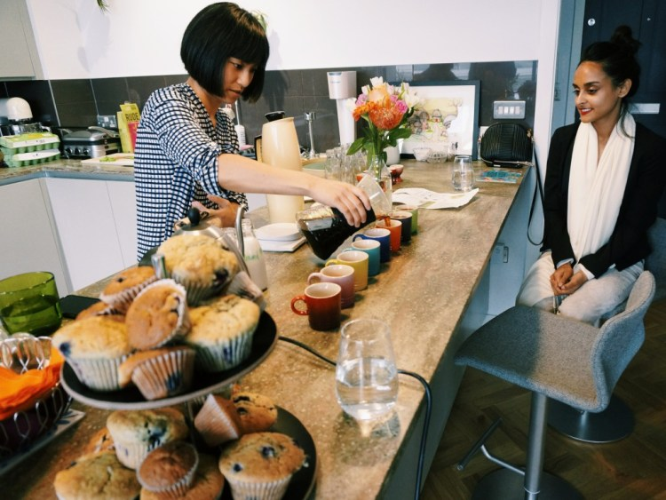 Tina Work Top Kitchen New Yorker Meets London