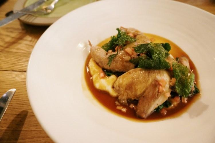 Rabbit Restaurant London quail