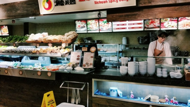 food stall at Hong Kong