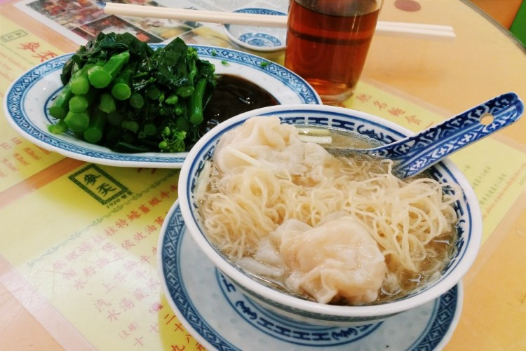 Mak's Noodle wonton noodles, one of the best places to eat in Hong Kong