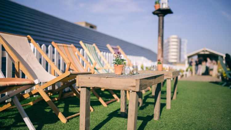 dalston roof top bar
