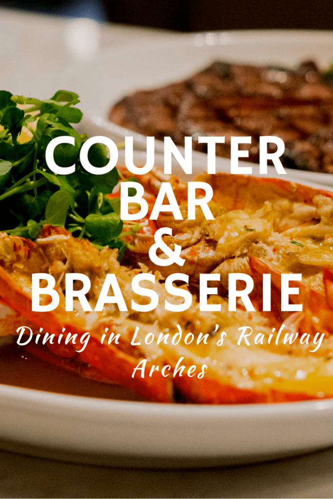 A review of Counter Bar & Brasserie, a cool London restaurant situated in a railway arch