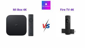 Mi Box vs Fire TV 4K