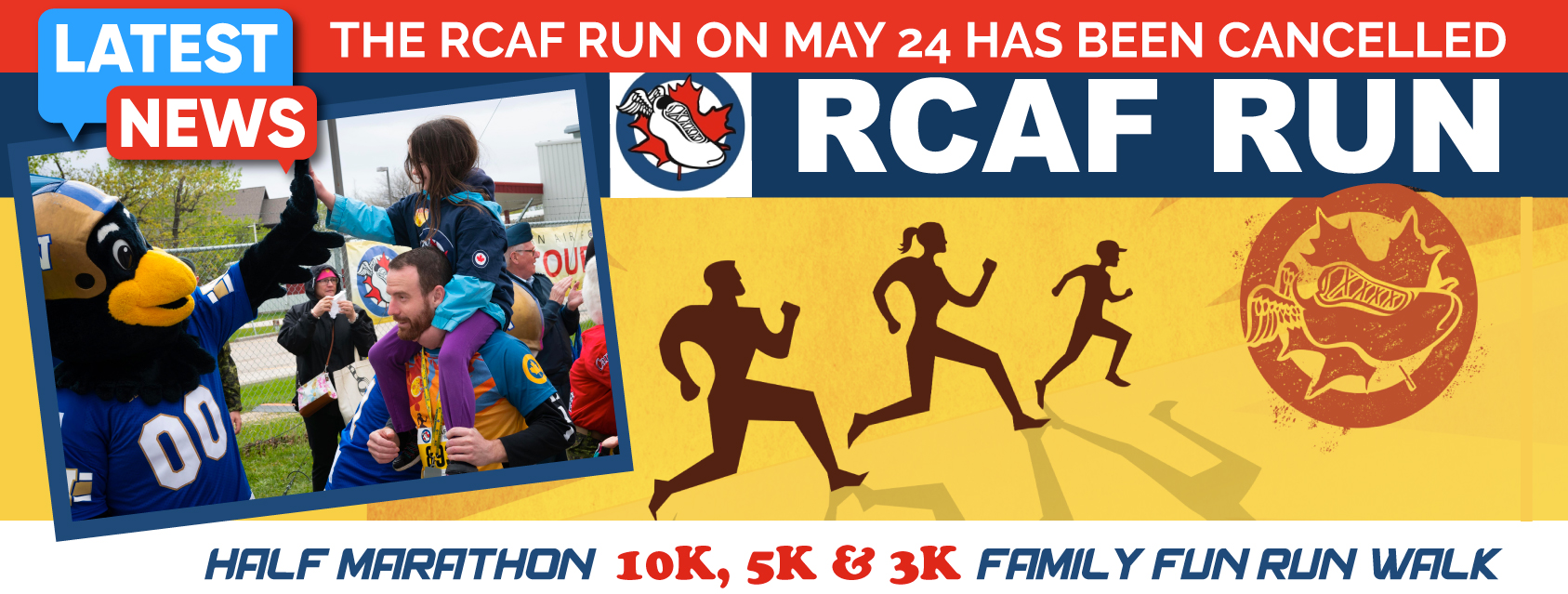 Royal Canadian Air Force Run - **CANCELLED**