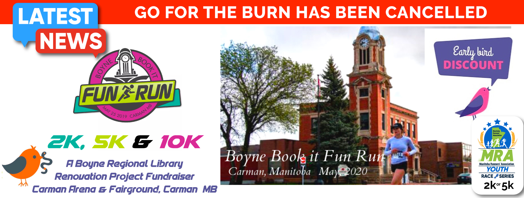Boyne Book It Fun Run  **CANCELLED**