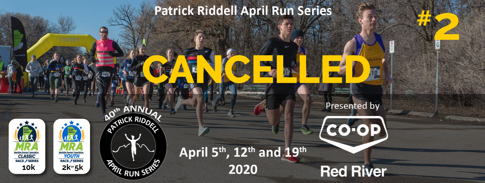 Patrick Riddell April Run Series #2 - Presented by Red River Co-op  **CANCELLED**