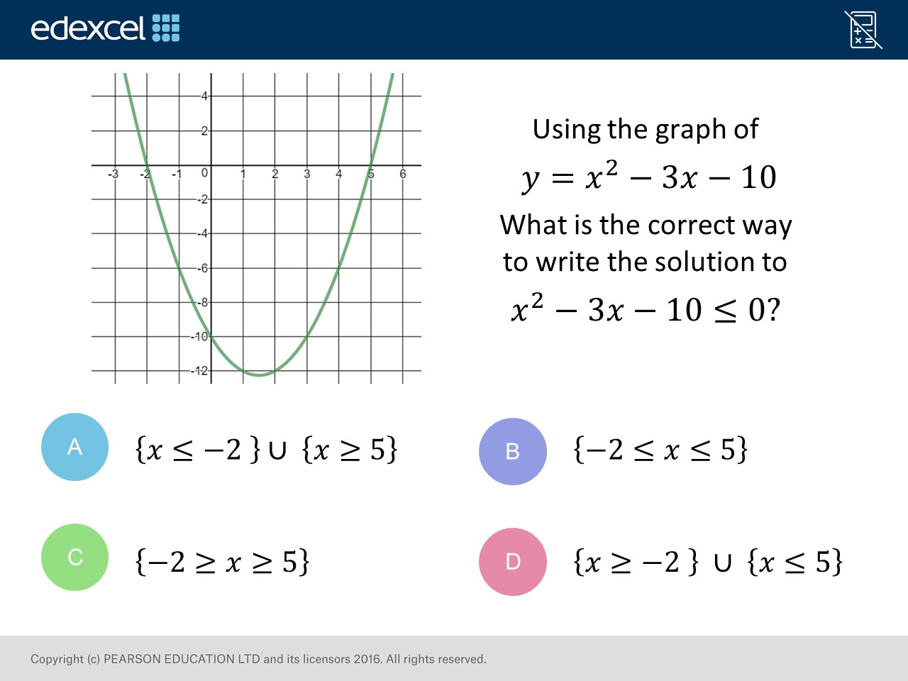 Quadratic Inequalities Higher Gcse Maths Question Of The Week On Mr Barton Maths