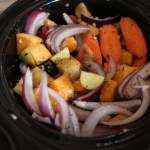 Slow cooker roasted vegetables