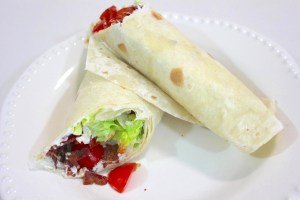 BLT Sandwich Wraps Recipe