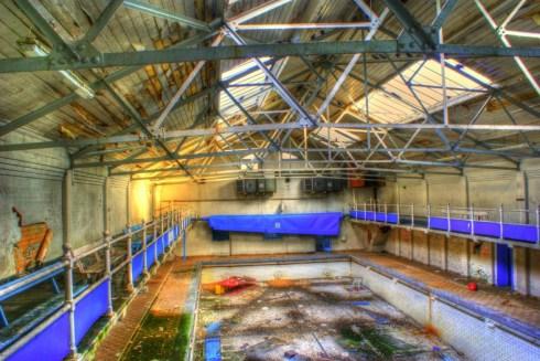 swimming pool redone